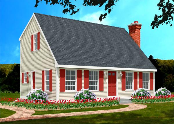 Cape house plan 6622-CP_f