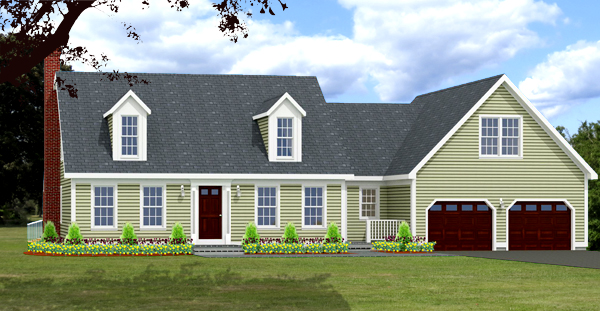 cape house plan rendering 8644-CP_f