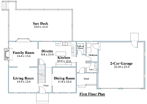 cape house plan first floor_8644cp_1