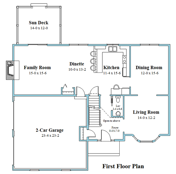 colonial house plan first floor 8243_CL_floor_plan_1