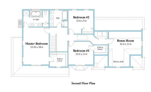 colonial house plan second floor 9333-cl_2