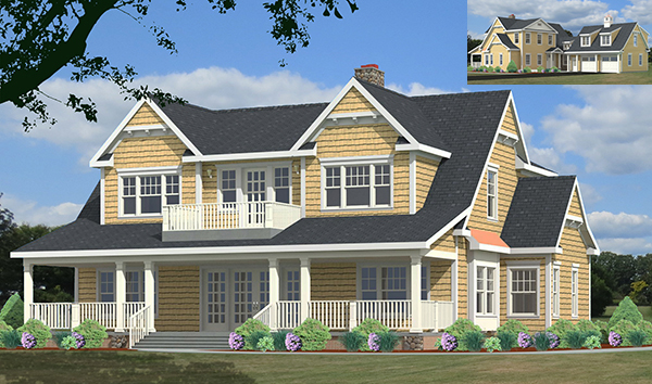 unique house plan rendering 9948-U-L_f