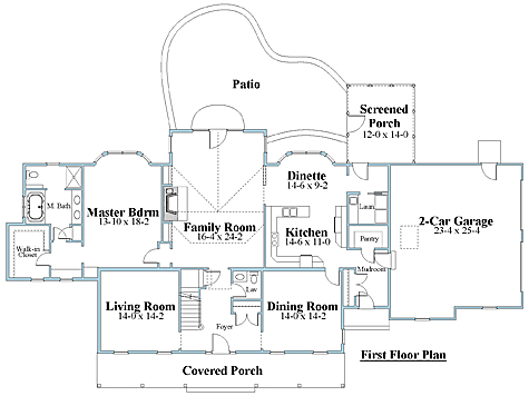 cape house plan first floor_8183cpl_1