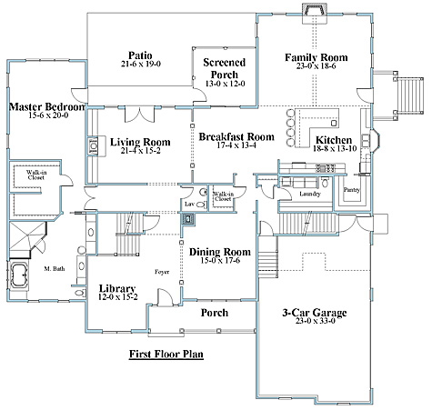 unique house plan first floor_8846ul_1