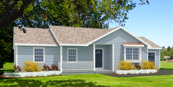 Ranch house plans rendering 7046-R_f