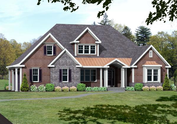 unique house plan rendering 9673_U_F
