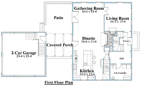 salt box house plan 1st floor_8112sb_1