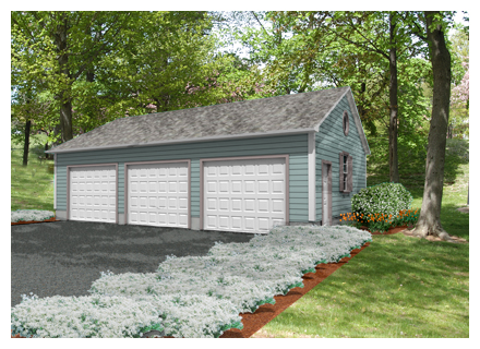 do it yourself garage shed plan 2436_web