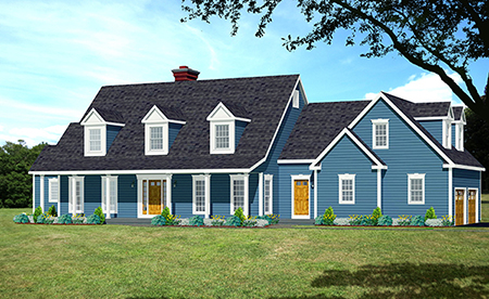 cape house plan rendering 8183-CP_f
