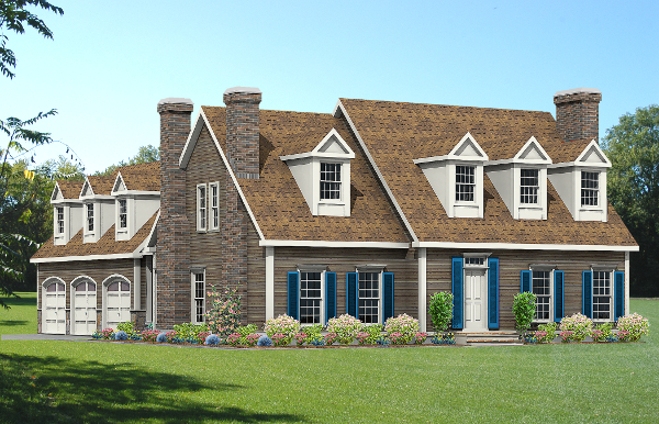 cape house plan rendering 8673-CP_f