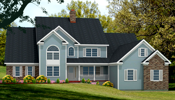unique house plan rendering 8846-U-L_f