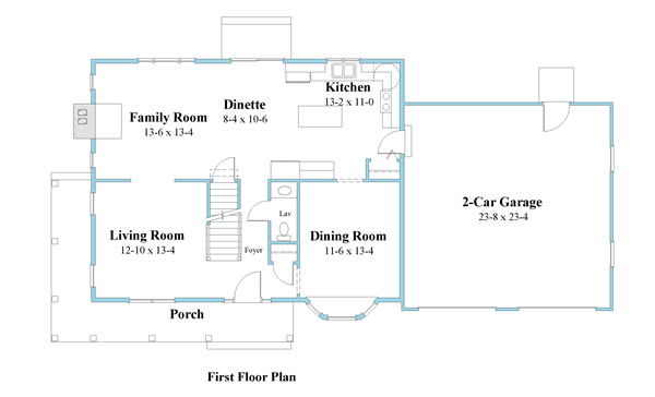 colonial house plan first floor 9333-cl_1