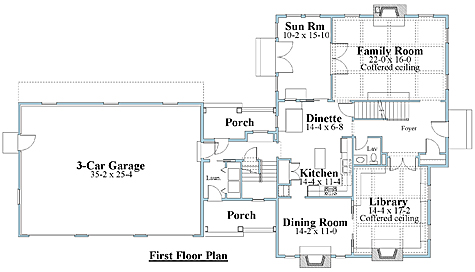 cape house plan first floor_8673cp_1