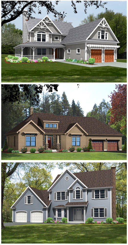 house plan renderings 3d 2
