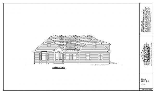 ss-10159rl-1 3 bedroom ranch house