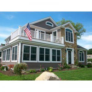 9688-U unique traditional style house plan photo sq 1