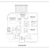 ss-9895ul-7 4 bedroom 3 bathroom shingle