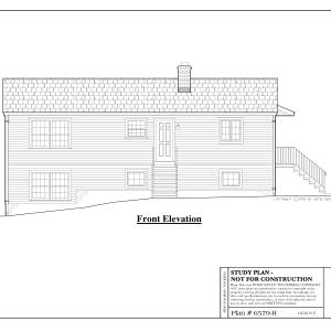 ss-6579r-1 3 bedroom 2 bathroom raised ranch house plan