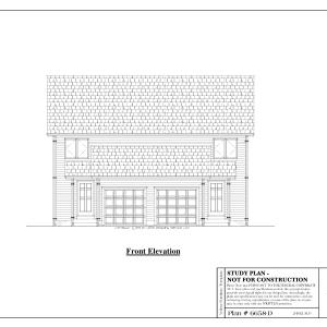 ss-6658d-1 3 bedroom 1 bathroom duplex house plan