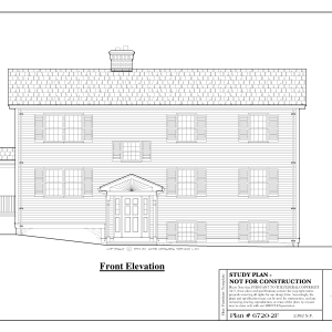 ss-67202f-1 3 bedroom 1 bathroom multi family house plan