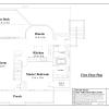 ss-7037cp-6 4 bedroom 2 bathroom cape house plan