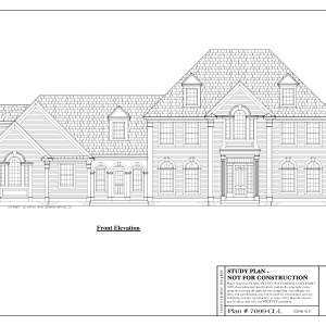 ss-7099cll-1 4 bedroom 3 bathroom colonial house plan