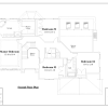 ss-7119cl-74 bedroom 2 bathroom colonial house plan