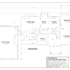 ss-7128cll-6 3 bedroom 2 bathroom colonial house plan
