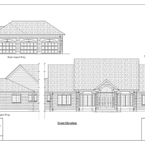 ss-7154rl-1 3 bedroom 2 bathroom ranch house plan