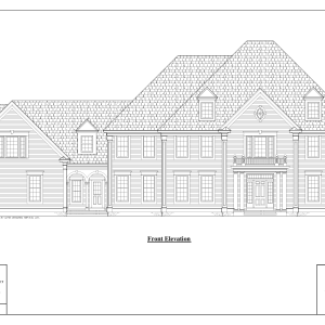ss-7162cll-1 5 bedroom 5 bathroom colonial house plan