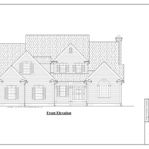 ss-7569cpl-1 3 bedroom 2 bathroom cape house plan