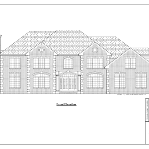 ss-7668cll-1 4 bedroom 3 bathroom colonial house plan