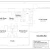 ss-7670cp-2 3 bedroom 2 bathroom cape house plan