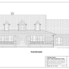 ss-7747cp-1 3 bedroom 2 bathroom cape house plan