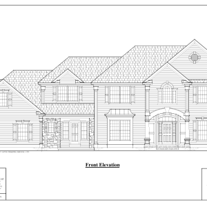 ss-7772cl-1 4 bedroom 3 bathroom colonial house plan