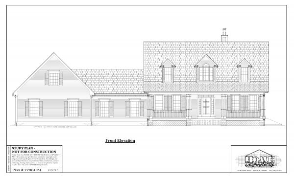 ss-7780cpl-1 3 bedroom 2 bathroom cape house plan