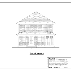 ss-7943cl-1 3 bedroom 1 bathroom colonial house plan