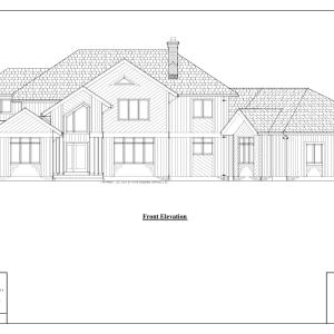 ss-8498ctl-1 4 bedroom 3 bathroom contemporary house plan
