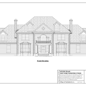 ss-8500cll-1 4 bedroom 3 bathroom colonial house plan