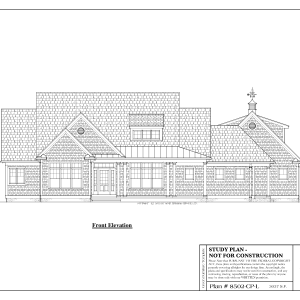ss-8502cpl-1 3 bedroom 2 bathroom cape house plans