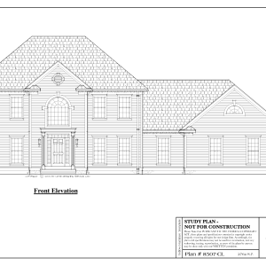 ss-8507cl-1 3 bedroom 2 bathroom colonial house plan