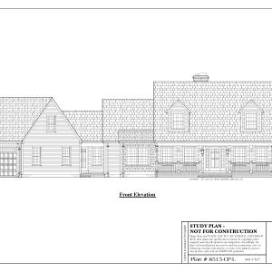 ss-8515cpl-1 3 bedroom 2 bathroom cape house plan