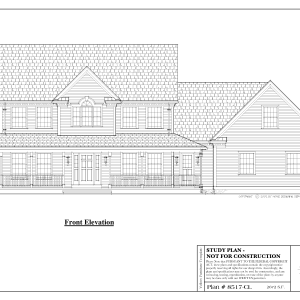 ss-8517cl-1 4 bedroom 2 bathroom colonial house plan