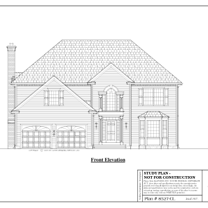 ss-8527cl-1 3 bedroom 2 bathroom colonial house plan