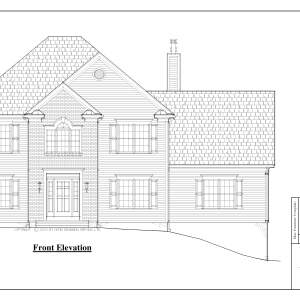 ss-8541cl-1 5 bedroom 3 bathroom colonial house plan