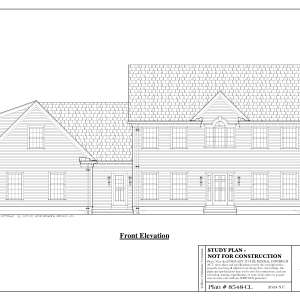 ss-8548cl-1 4 bedroom 2 bathroom colonial house plan