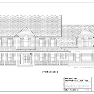 ss-8550cl-1 4 bedroom 2 bathroom colonial house plan