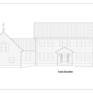 ss-8562cl-1 3 bedroom 3 bathroom colonial house plan