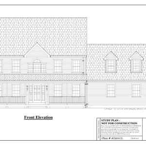 ss-8569cl-1 3 bedroom 2 bathroom colonial house plan