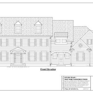 ss-8599cl-1 5 bedroom 5 bathroom colonial house plan